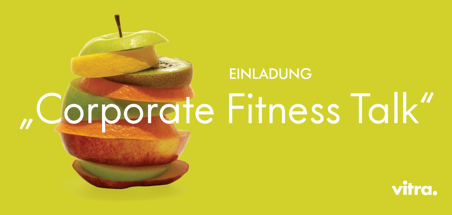 Corporate Fitness Talk mit Herrn Dr. Marti