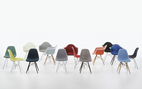 Vitra Eames Plastic Side Chairs